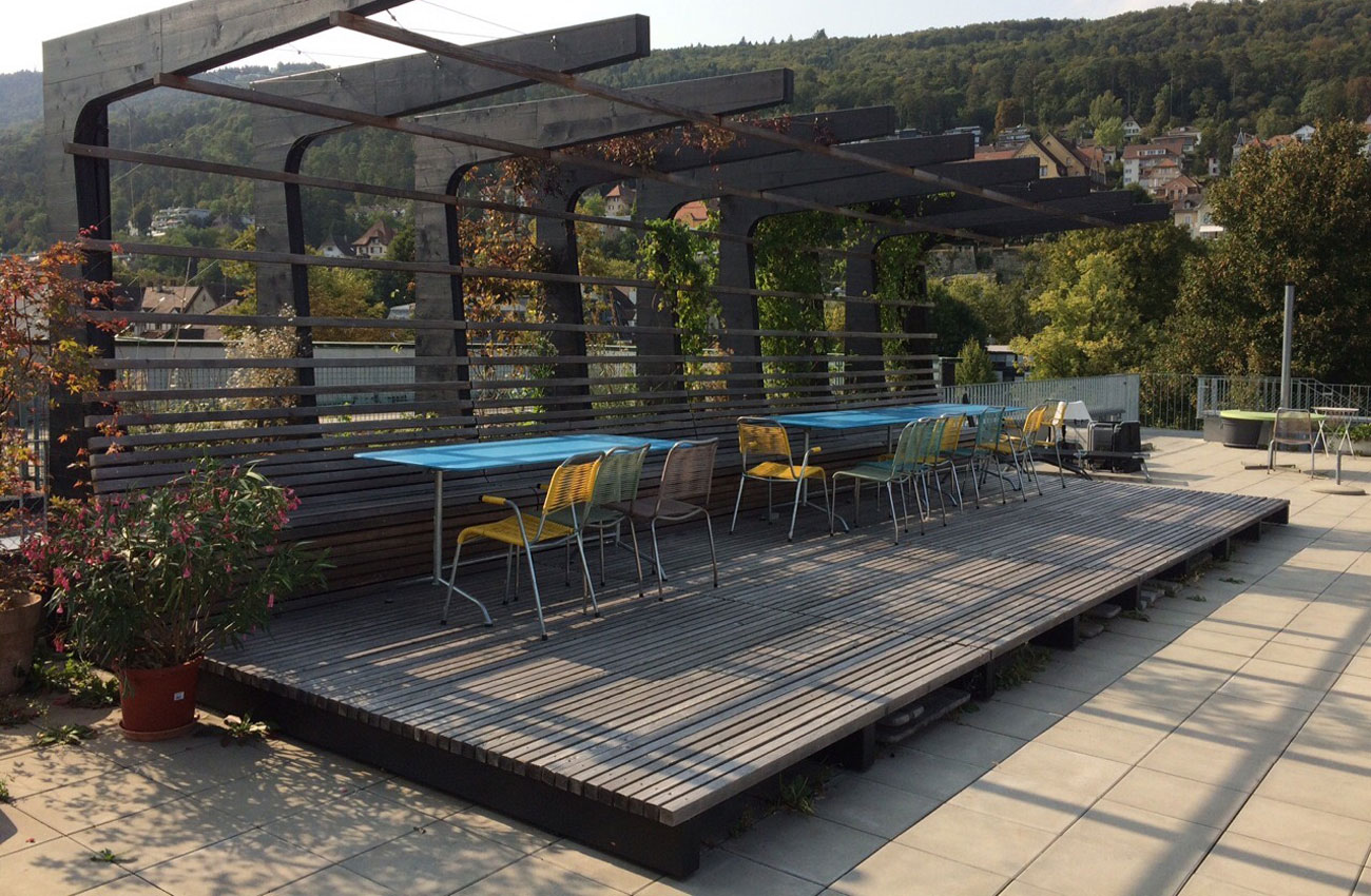 WEB Referenz Verve Pergola LignoStain